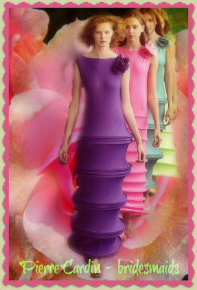 Pierre Cardin - bridesmaids