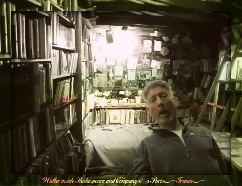 Shakespeare and Company  Paris  France-Wal1