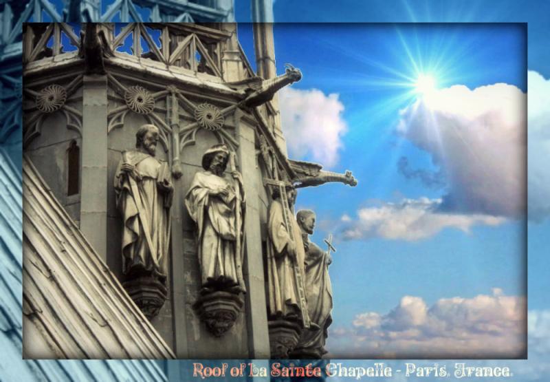 Paris - Saint Chapelle - roof1_pe