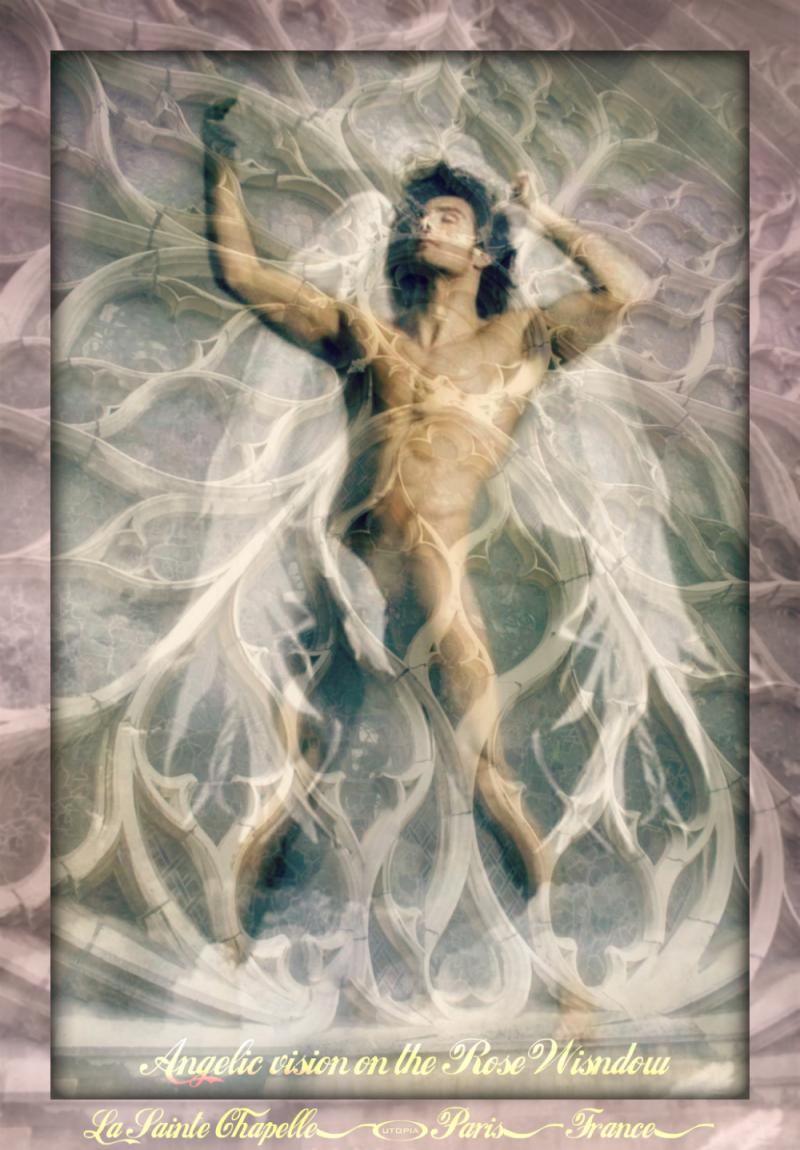 Paris Saint Chapelle -rose-window_pe-with angel1