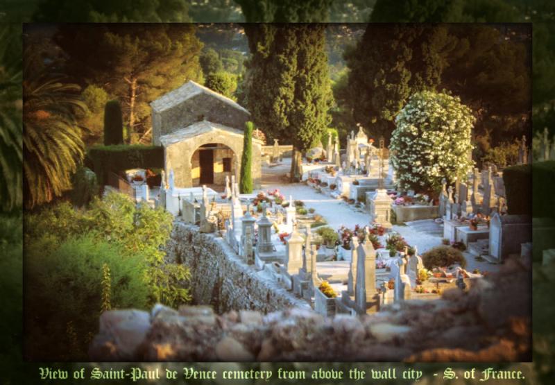 St Paul de Vence1 - cemetery