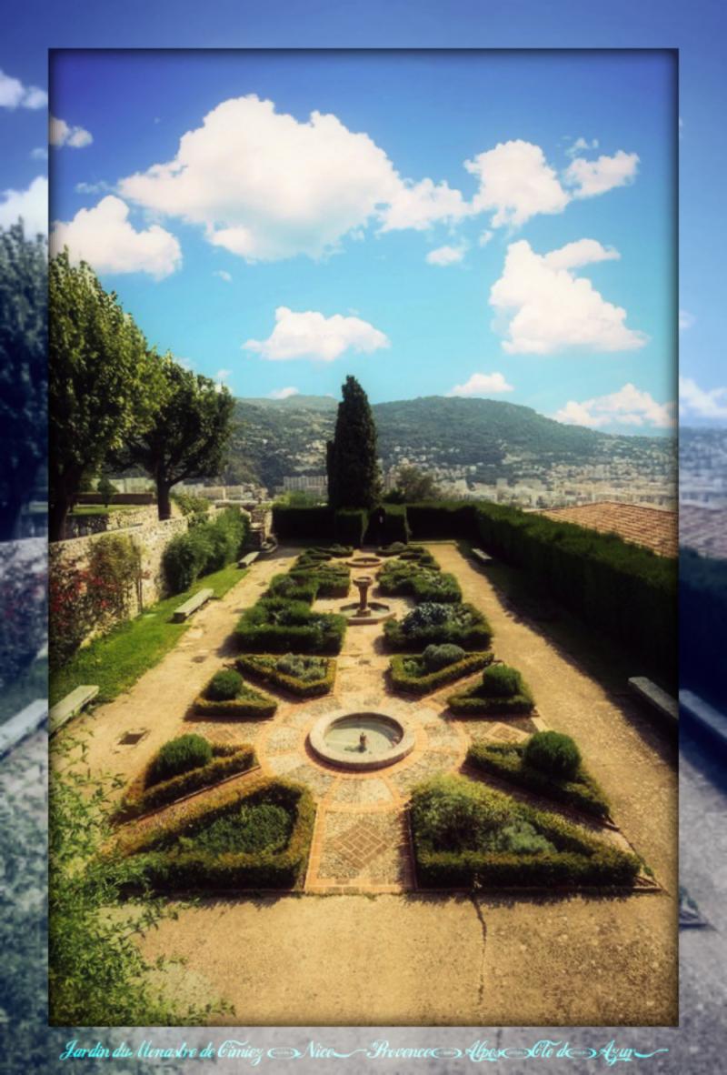 Nice - Jardin du Monastère de Cimiez, Provence-Alpes-Côte d'Azur1_pe