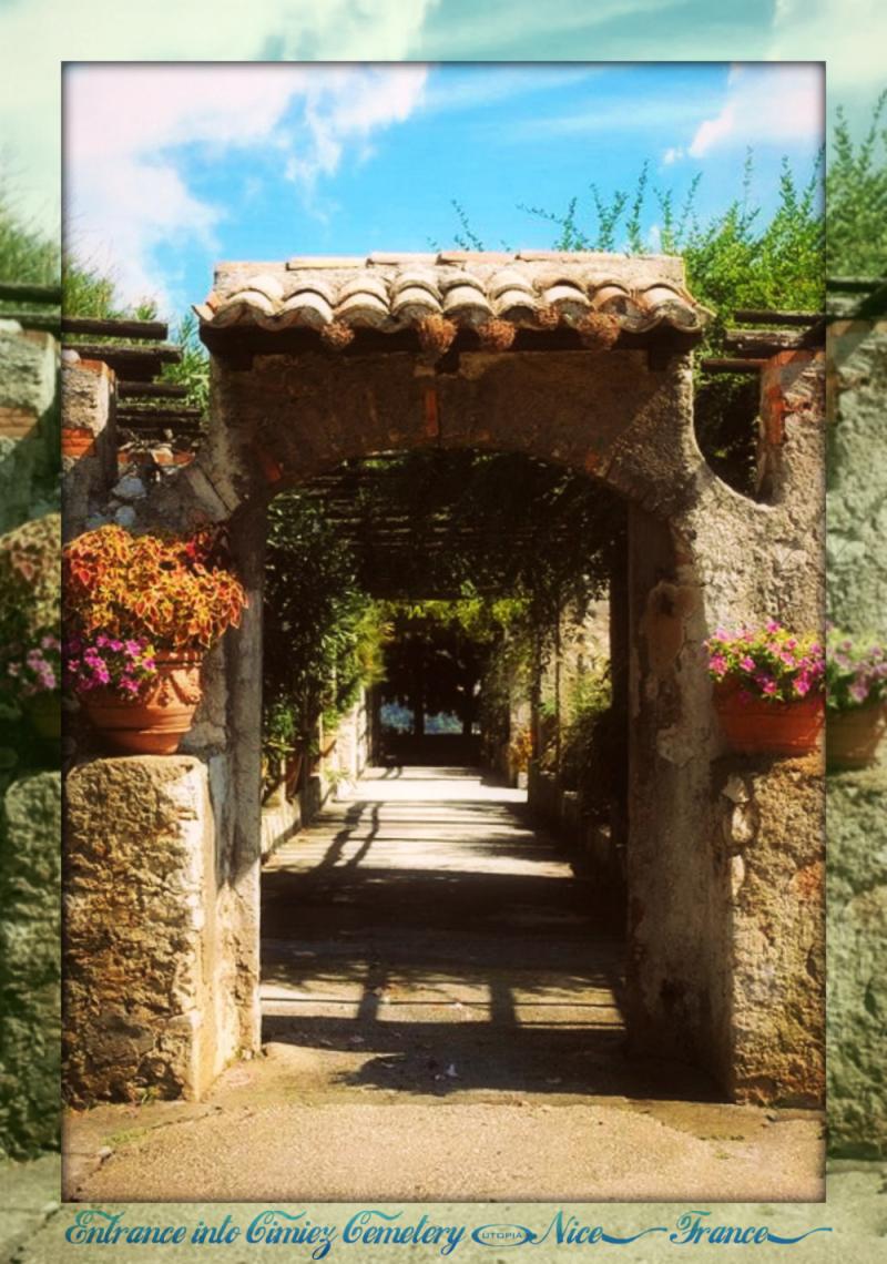 Nice - Cimiez Cemetery entrance1