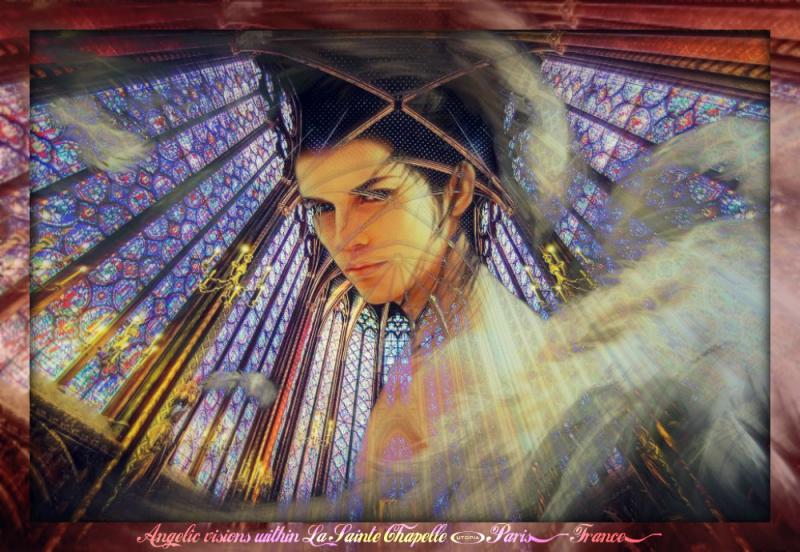 Paris - Sainte-Chapelle with angel1