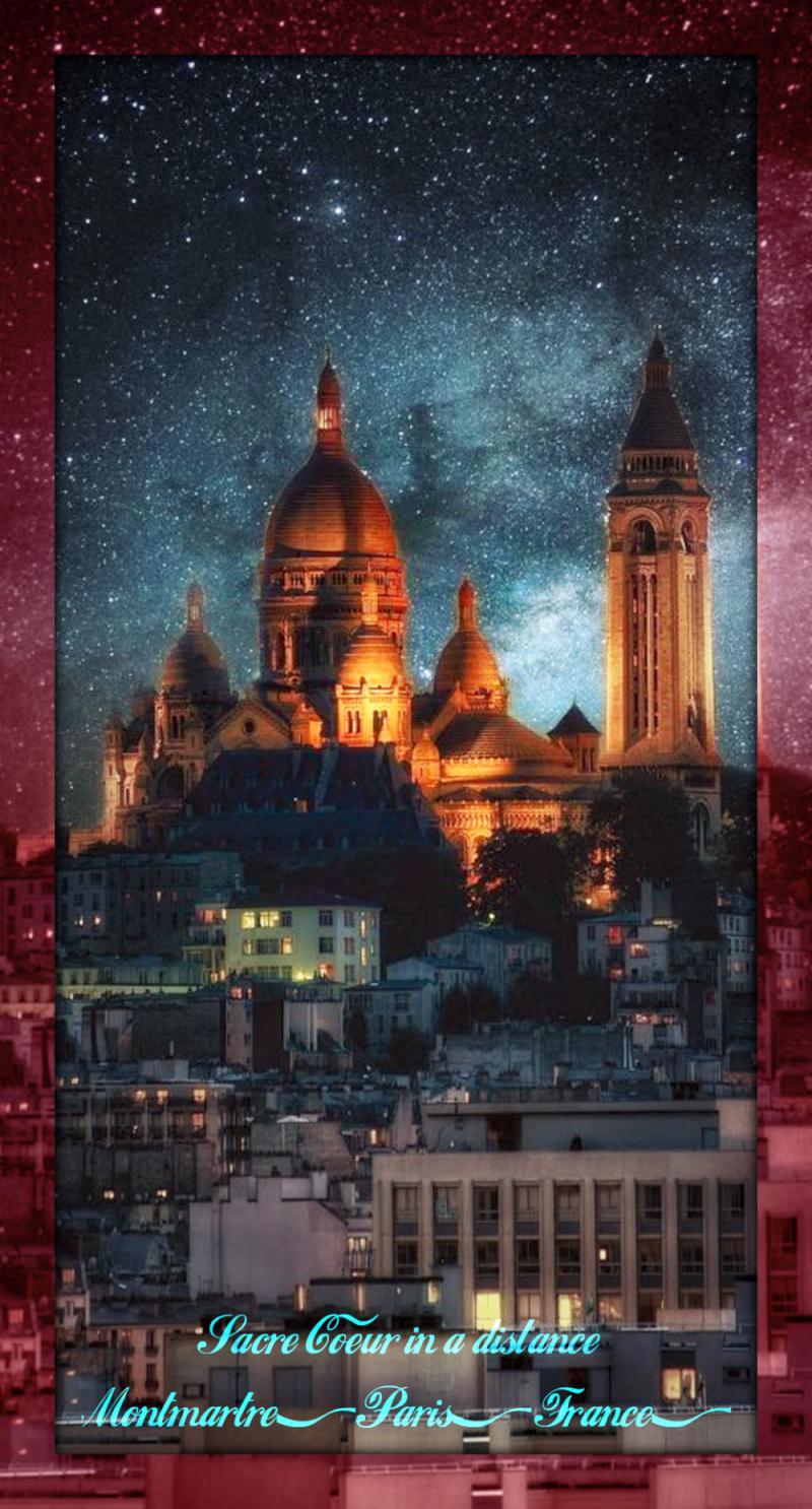 Montmartre Paris - Sacré Coeur1