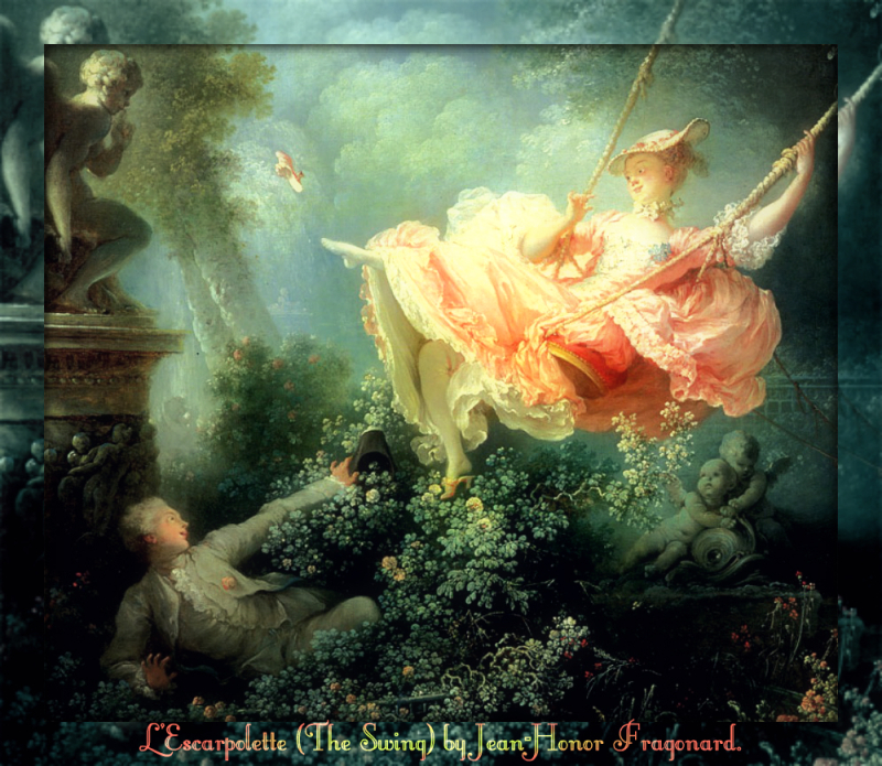 Fragonard Art - the swing1