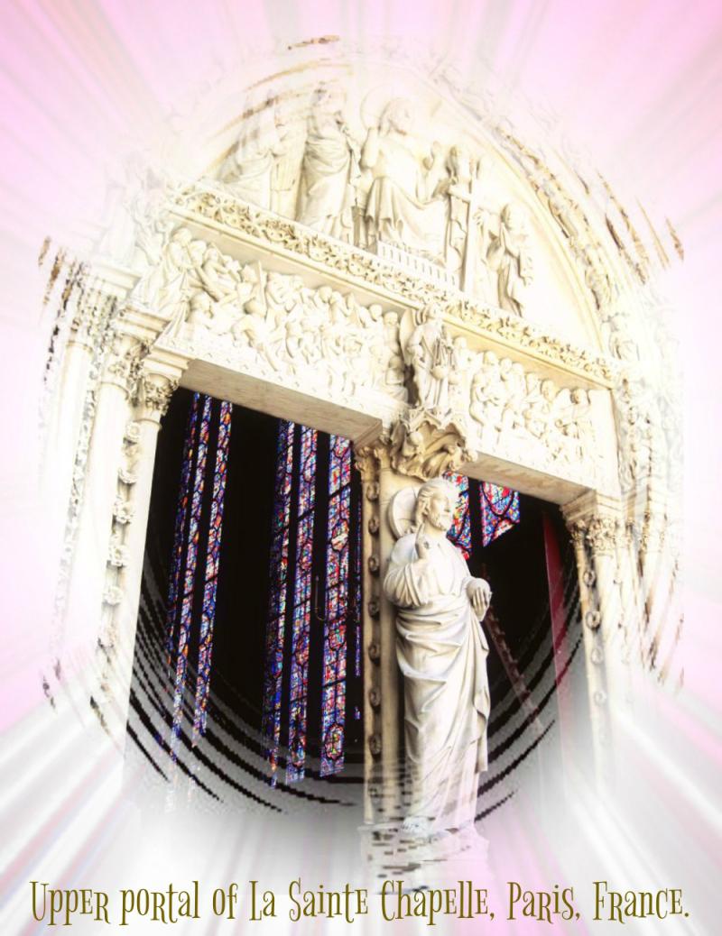 Paris - Saint Chapelle  UpperPortal2