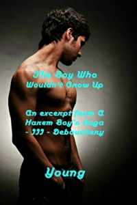 The Boy Who Wouldn't Grow Up - book cover-200pix